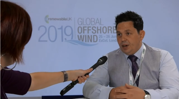 Gareth from Cathie at Global Offshore Wind