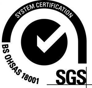 BS OHSAS 18001 accreditation